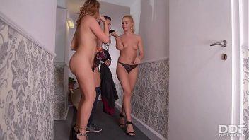 Mulheres fazendo boquete no amigo de sorte