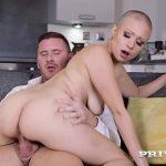 Hot sexy mulher careca gata fodendo