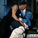 Vídeossexo com a alien azul